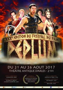 affiche XXX<sup>e</sup> Festival du film Peplum