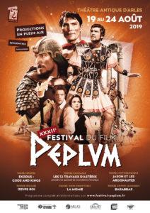 affiche XXXII<sup>e</sup> Festival du film Peplum