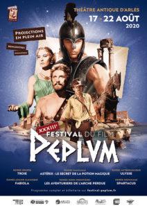 affiche XXXIII<sup>e</sup> Festival du film Peplum