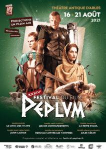 affiche XXXIV<sup>e</sup> Festival du film Peplum
